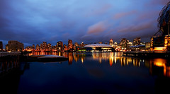 Vancouver Lights over False Creek