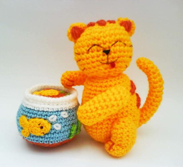 Free Crochet Cat Pattern Crochet And Knitting Patterns