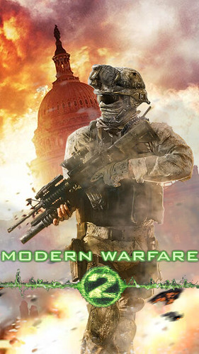 Mw2 Hd Wallpaper Call Of Duty Modern Warfare 2 Ghost Legends Iphone