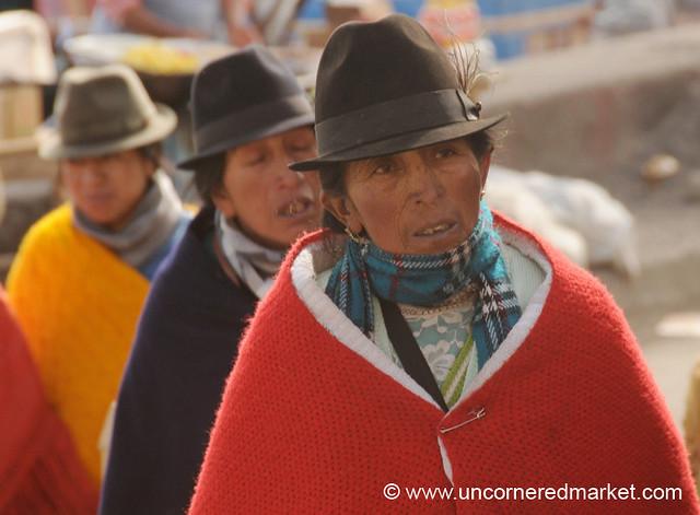 To Market We Go - Zumbahua, Ecuador