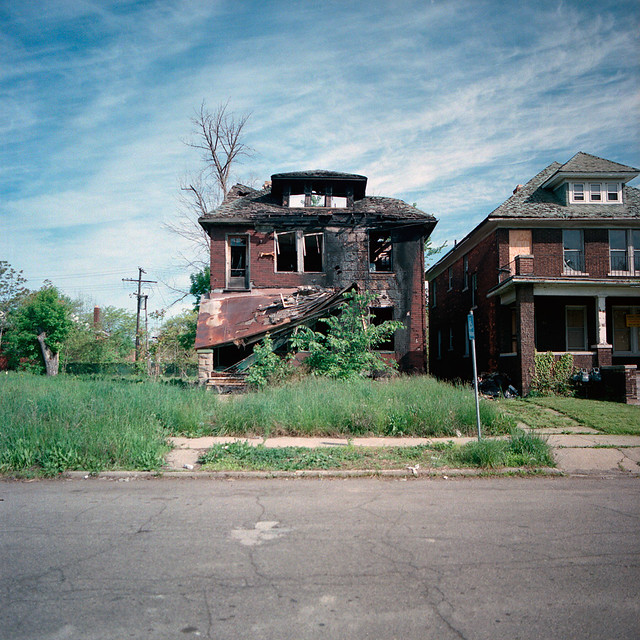 Abandoned house in detroit michigan flickr photo sharing for 3 4 houses in michigan