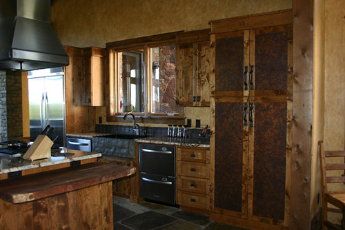 patina copper kitchen cabinet 5  Flickr  Photo Sharing!