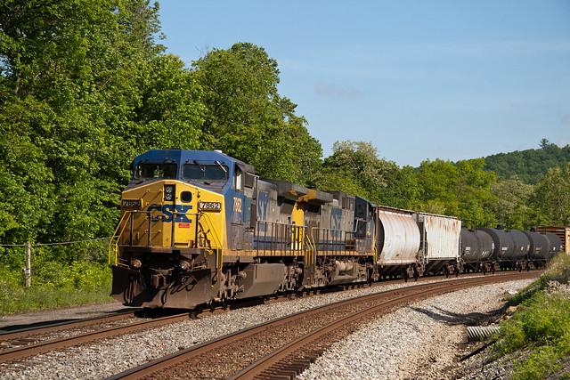 photograph csx train2650 by - photo #18