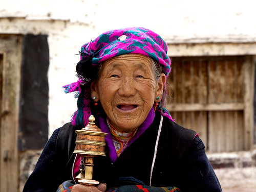 Somwhere in Tibet