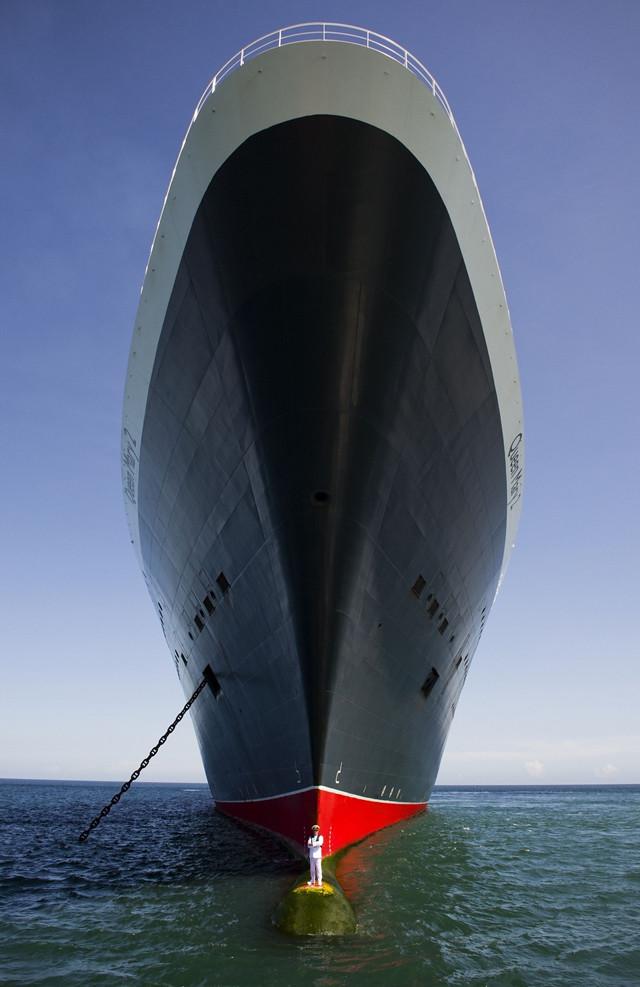 """El capitàn del """"Queen Mary """" es el puto amo"""
