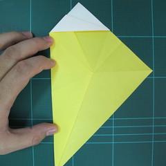 วิธีการพับกระดาษรูปม้าน้ำ (Origami Seahorse) 015
