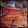 Klaralund body finished...knit in the round with added shaping. #noro #twistyarnshop #knitting #klaralund #knitsweater