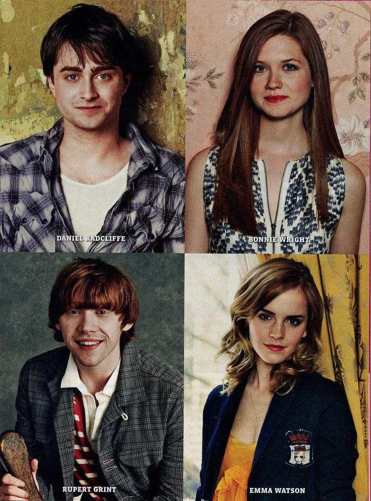 Daniel Radcliffe And Rupert Grint Emma Watson, Ru...