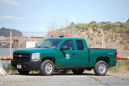 California department of fish and game warden truck a for Ca dept of fish and game