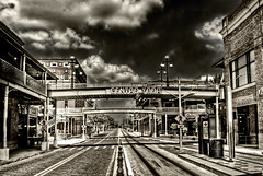 dual processed ybor ghost town hdr 1 desaturated sepia by RoryMad Studios