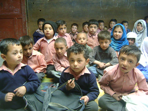 School in Rahbat village, near Chalt
