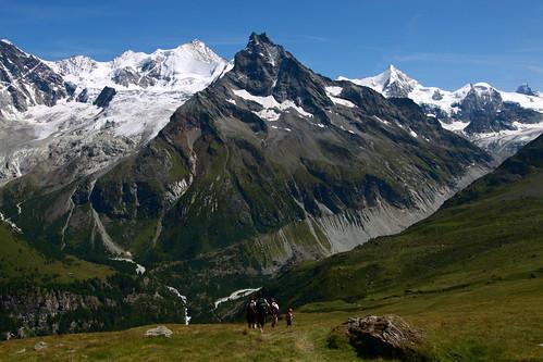 Balade de Zinal (entre Sorebois et le Petit Mountet)