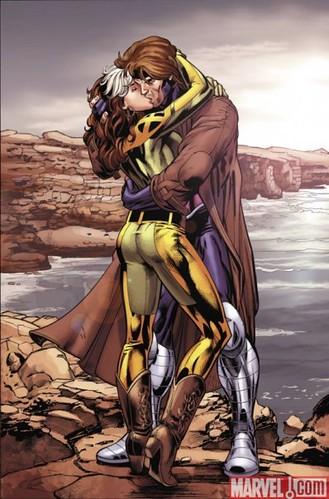 Gambit Rogue Kiss