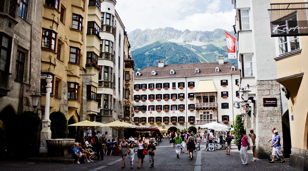 Photo: Innsbruck Old Town