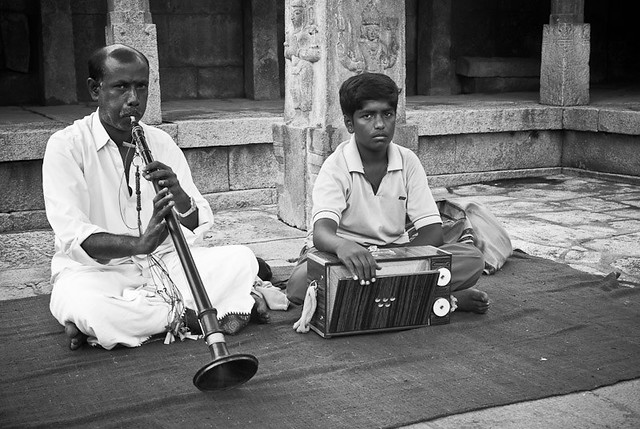 The Nadaswaram player