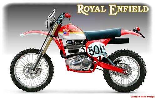 ROYAL ENFIELD BAJA RACER
