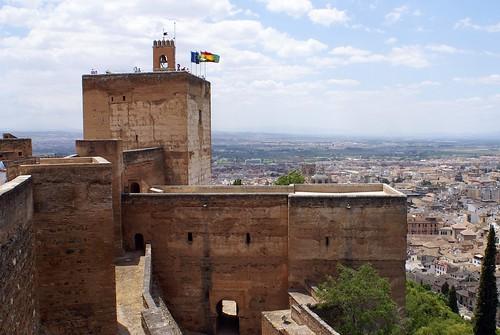 Foto Wachturm Alcazaba Granada