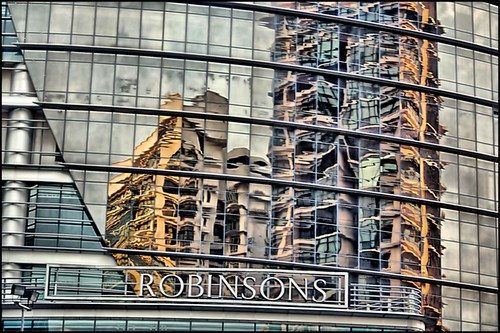 robinsons at the garden mid valley reflections