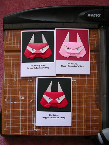 Paper Troll 1 Photos | Origami troll Valentine's Day cards | 419