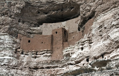 Montezuma's Castle and Well