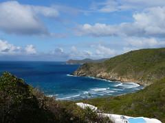 Guana Island: View from Villa
