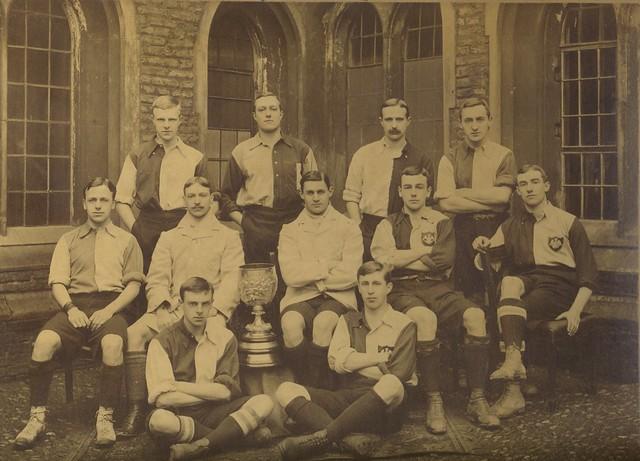 Queens' College Cambridge Football Team 1900-1901