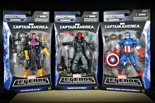 Marvel Legends Infinite Series: Captain America Wave 1