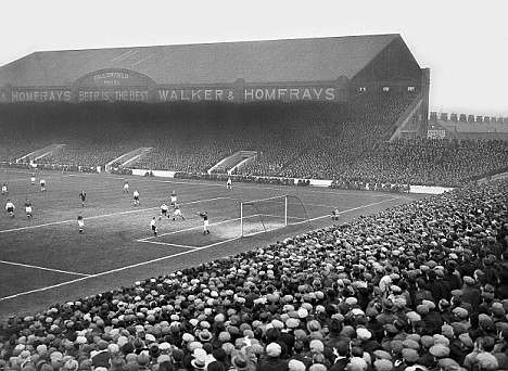 Main Stand, Maine Road 1936