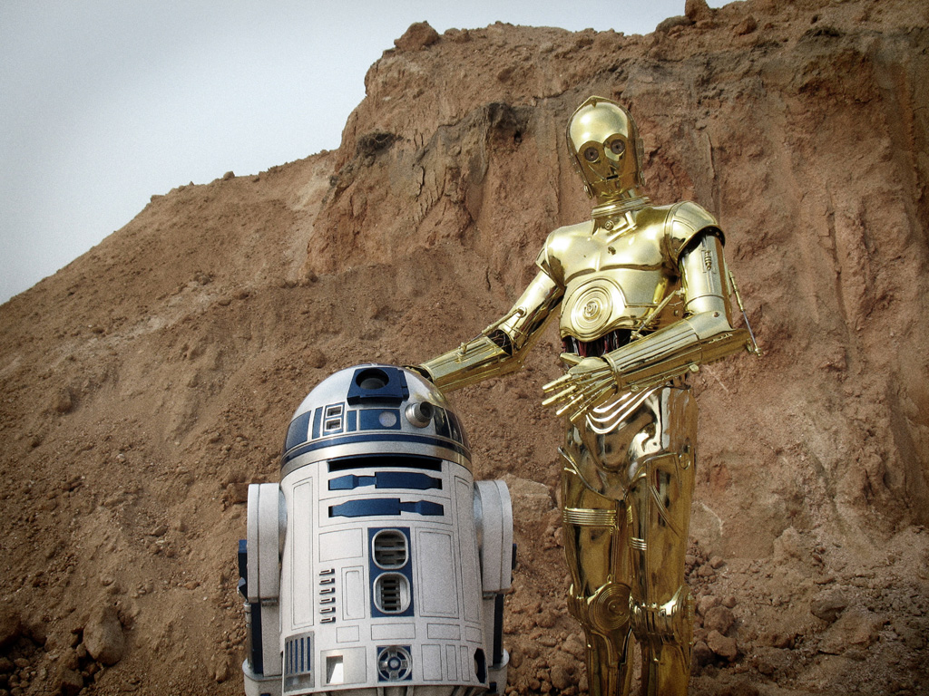 R2d2 And C3po C-3PO & R2D2 on Ta...