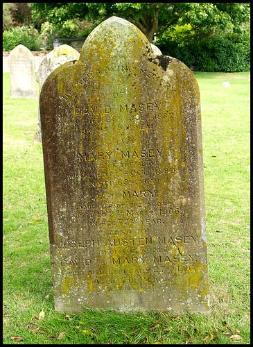 David Masey Grave