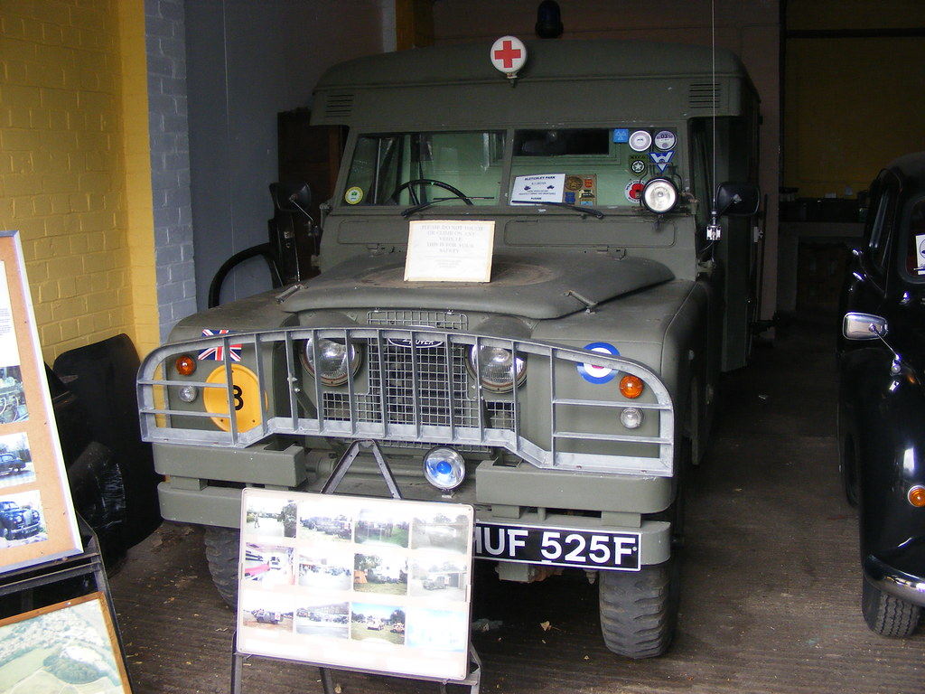 Land Rover Series 2 Ambulance MUF525F Bletchley Park