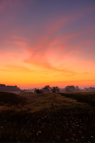 orange sun nature fog clouds sunrise canon sigma hdr