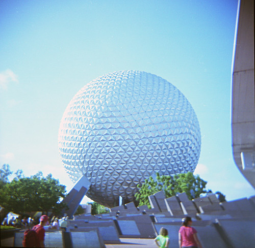 Spaceship Earth (Holga)