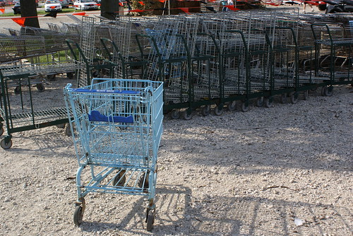 blue cart by ceck0face