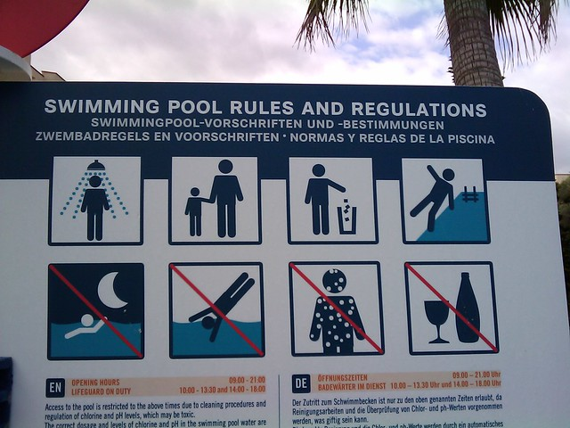swimming rules and regulations pdf