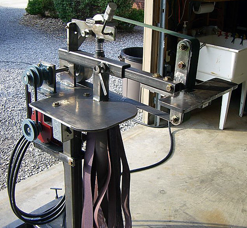 2x72 Belt Grinder By J Chandler Flickr Photo Sharing
