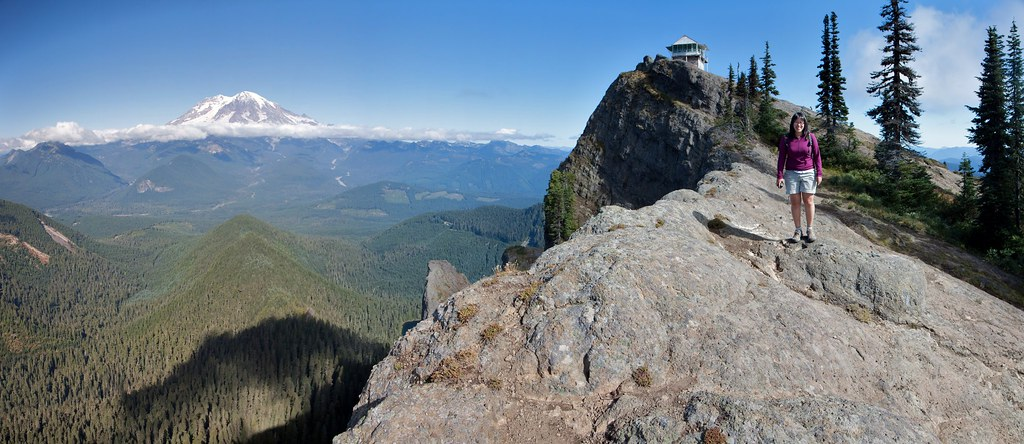 Panoramic View near High Rock Lookout