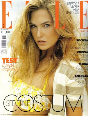 Bar Refaeli Elle Magazine by Biilboard Hot 100