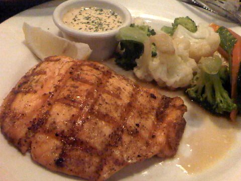 Grilled Salmon at Outback