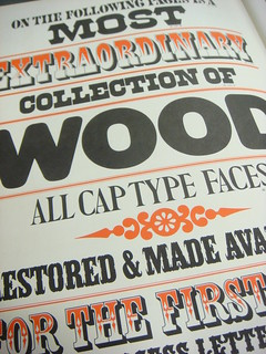 Morgan Press wood type specimen book