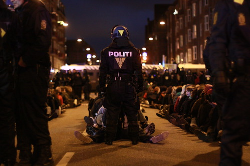 Mass Arrests on Amagerbrogade
