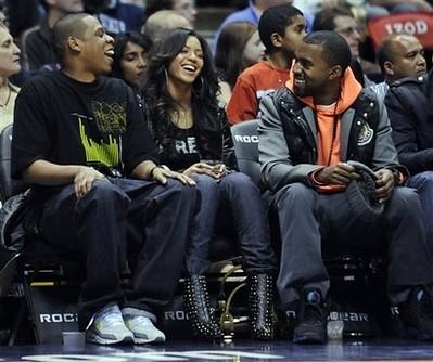 Beyonce, Jay Z, Kanye West