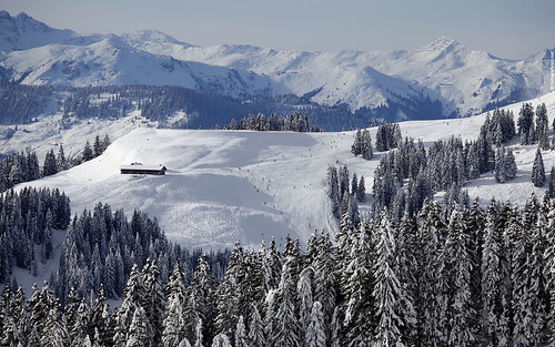 Skiwelt (Austria) Widescreen Wallpaper