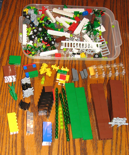 packing pick a brick cups pab at the lego store mostly. Black Bedroom Furniture Sets. Home Design Ideas
