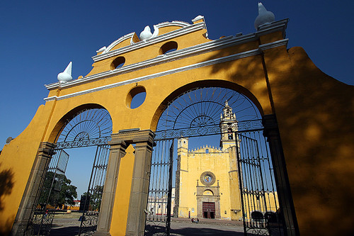 mexico mexique cholula puebla conventodesangabriel