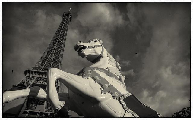 Eiffel Carousel Horse