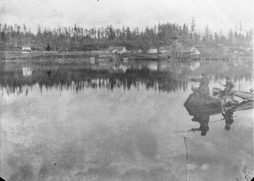 East shore of Green Lake, 1896
