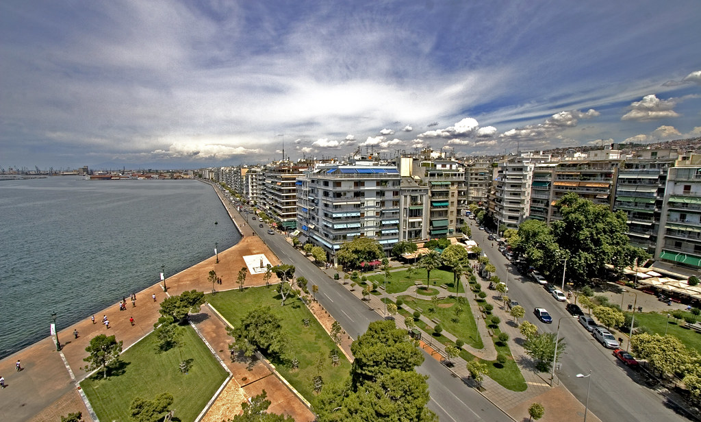 Thessaloniki from the White Tower