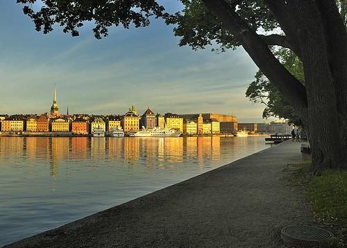 Early bird view from Skeppsholmen
