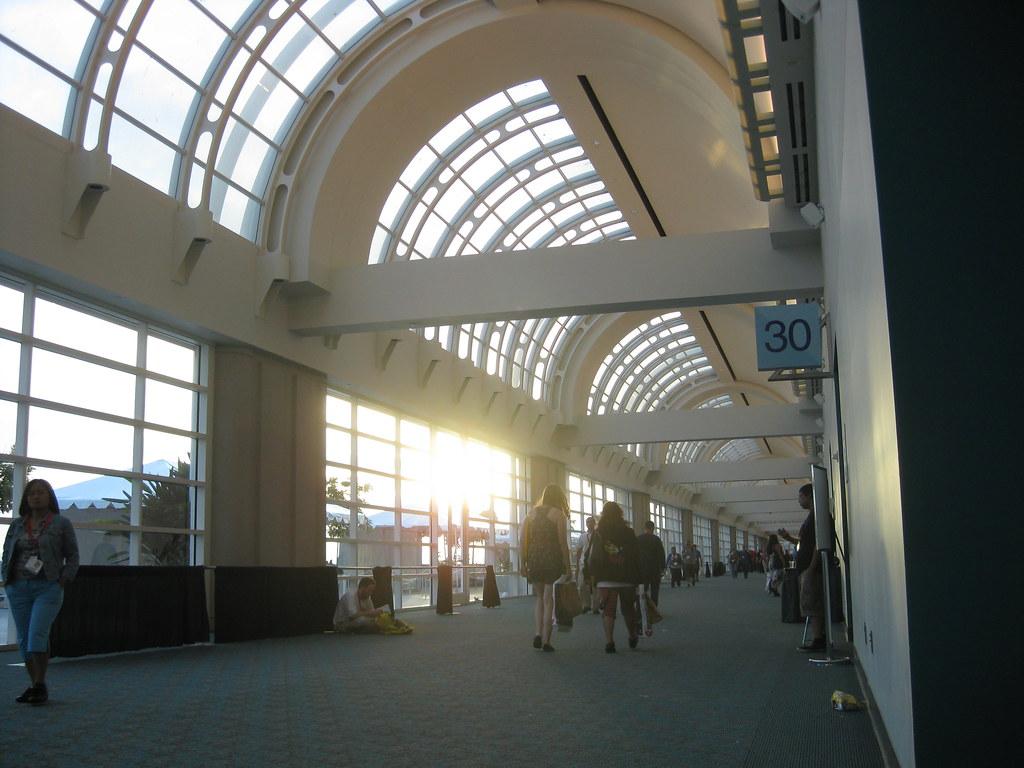 Hallway Sunset
